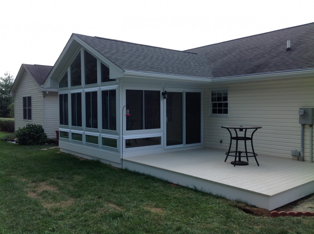 Sunrooms Prefab Vs Stick Built Construction What S The Difference