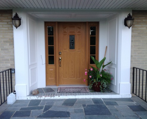 upgraded front doors