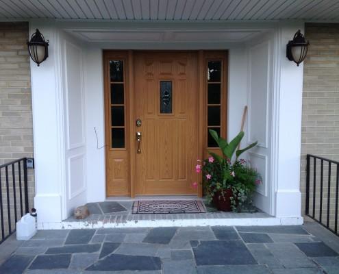 upgraded front doors