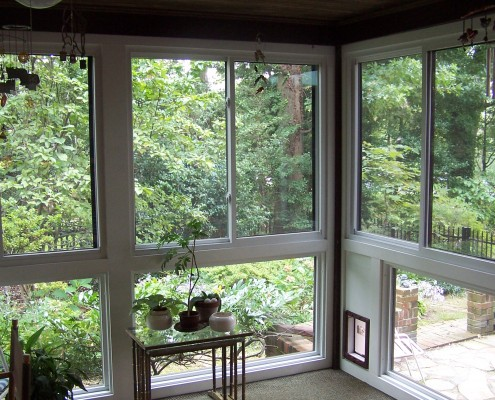 custom sunroom built by heartland