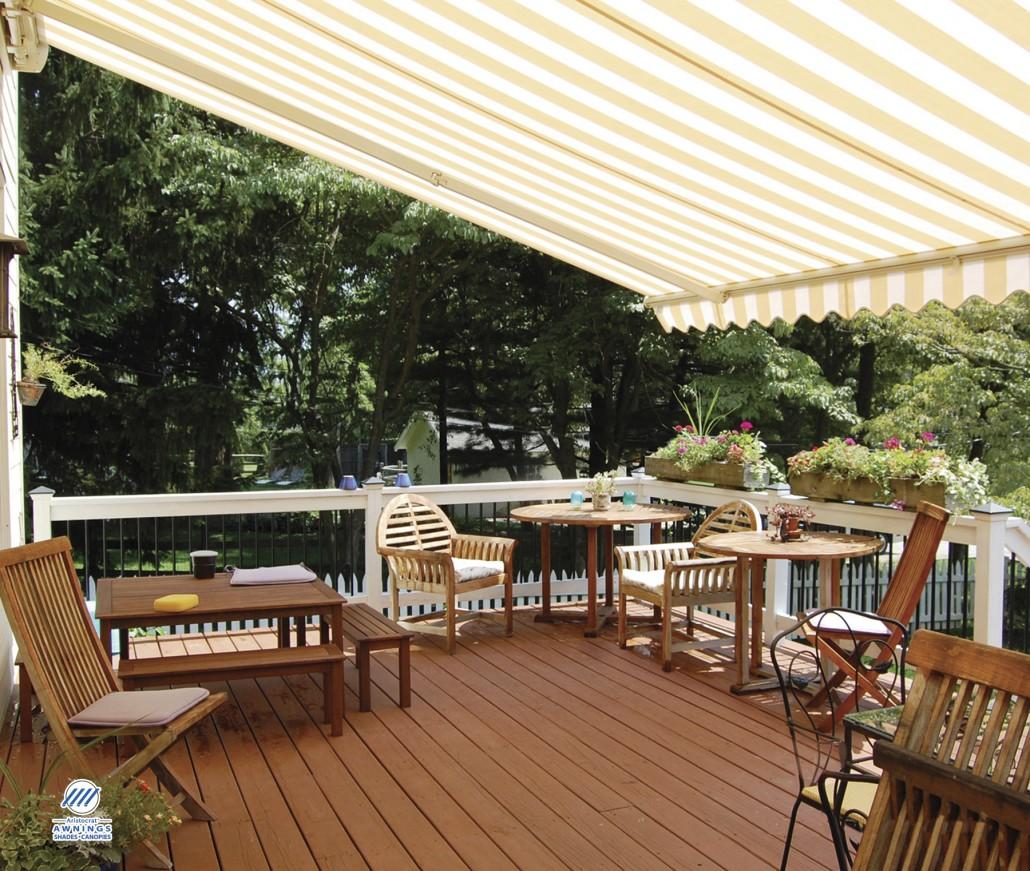 decks aluminum awnings vinyl air vent awning deck for