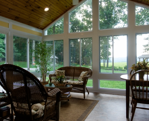 Custom sunroom by Heartland