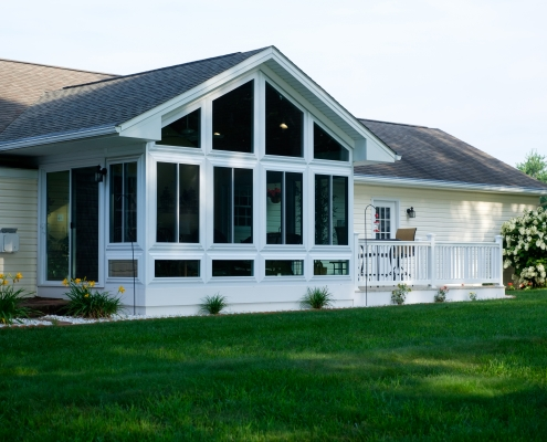 sunroom built by Heartland