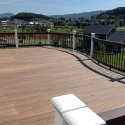 a custom deck by heartland