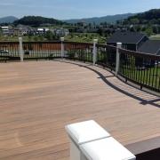 a custom deck by heartland