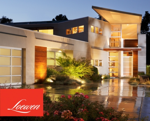 loewen windows and doors for contemporary homes