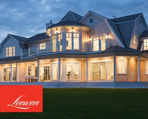 luxurious loewen windows and doors